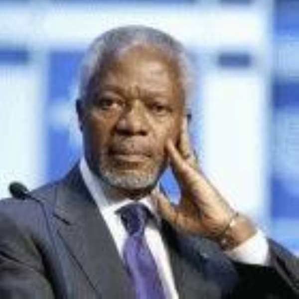 Impotent Africa bids farewell to Annan